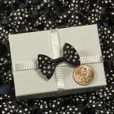 Black Itty Bitty Bows