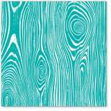 Teal Woodgrain